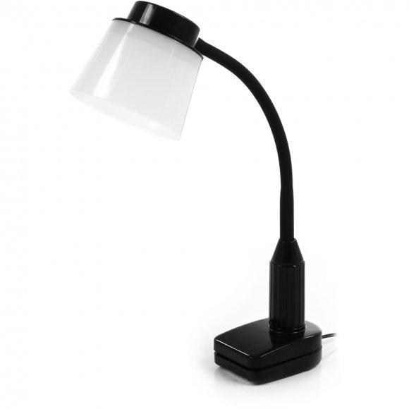 RTL 191 Černá LED lampa klip 5W RETLUX