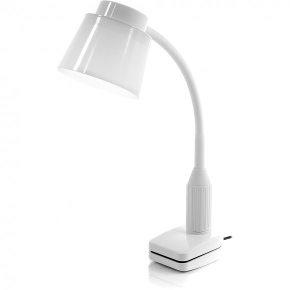 RTL 190 Bílá LED lampa klip 5W RETLUX