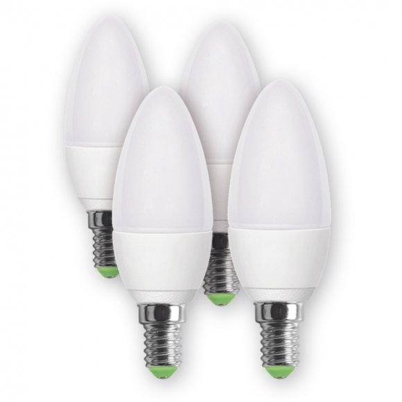 REL 16 LED C37 4x5W E14RETLUX