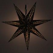 RXL 342 hvězda černá 10LED WW RETLUX