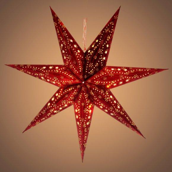 RXL 338 hvězda červená 10LED WW RETLUX