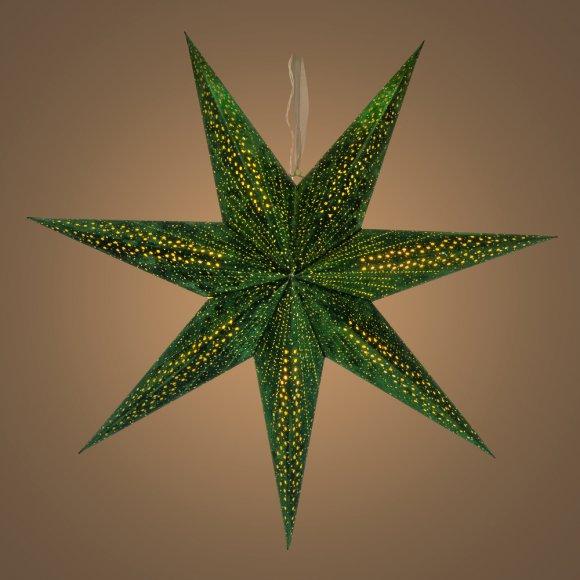 RXL 337 hvězda zelená 10LED WW RETLUX