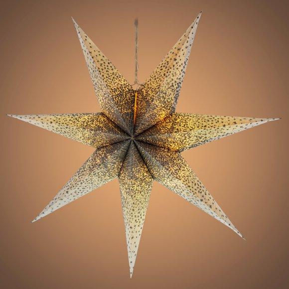 RXL 341 hvězda bílostříb.10LED WW RETLUX