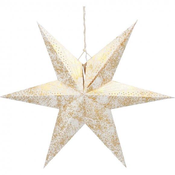 RXL 363 hvězda zlatá 10LED WW RETLUX